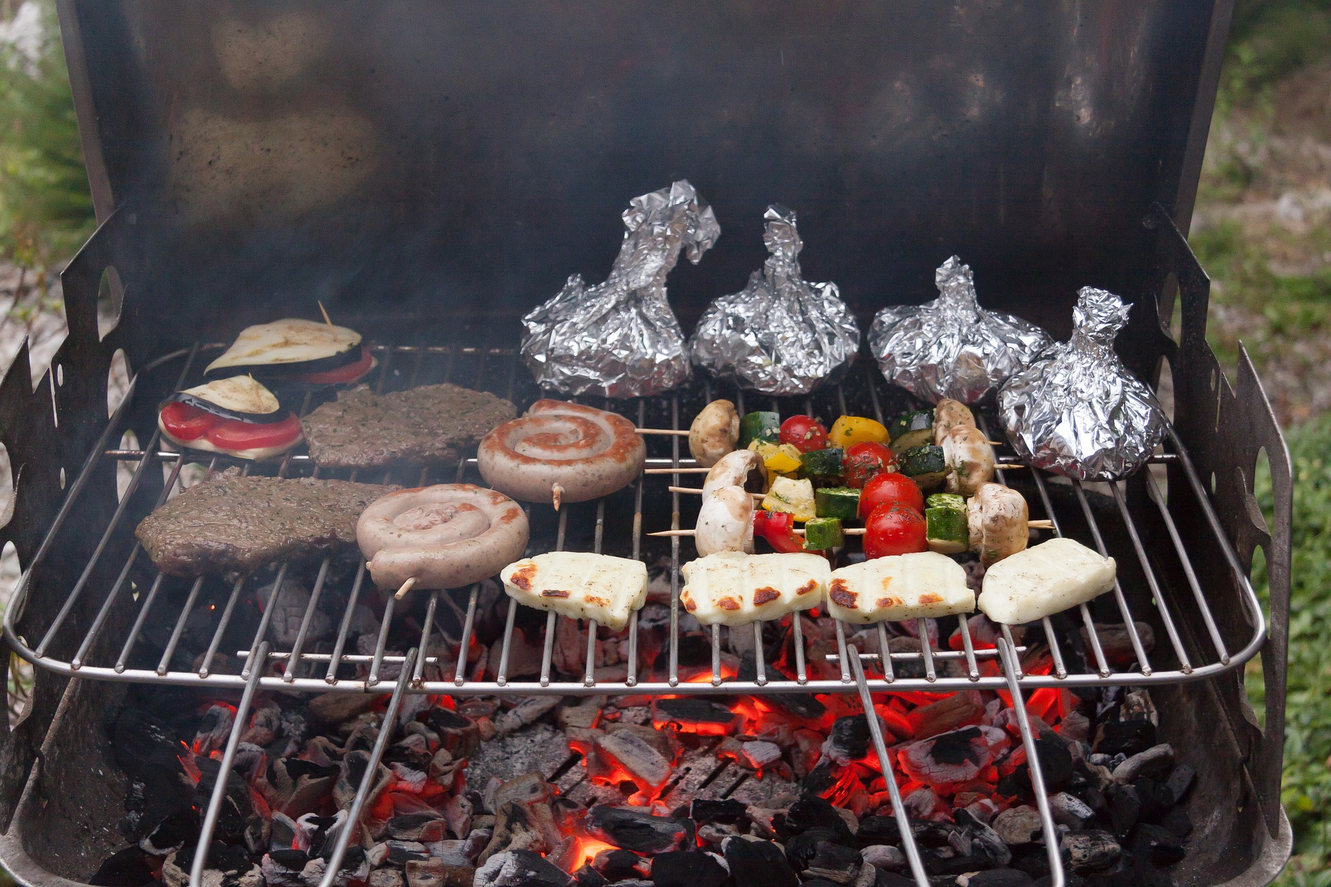The king of the barbecue: charcoal
