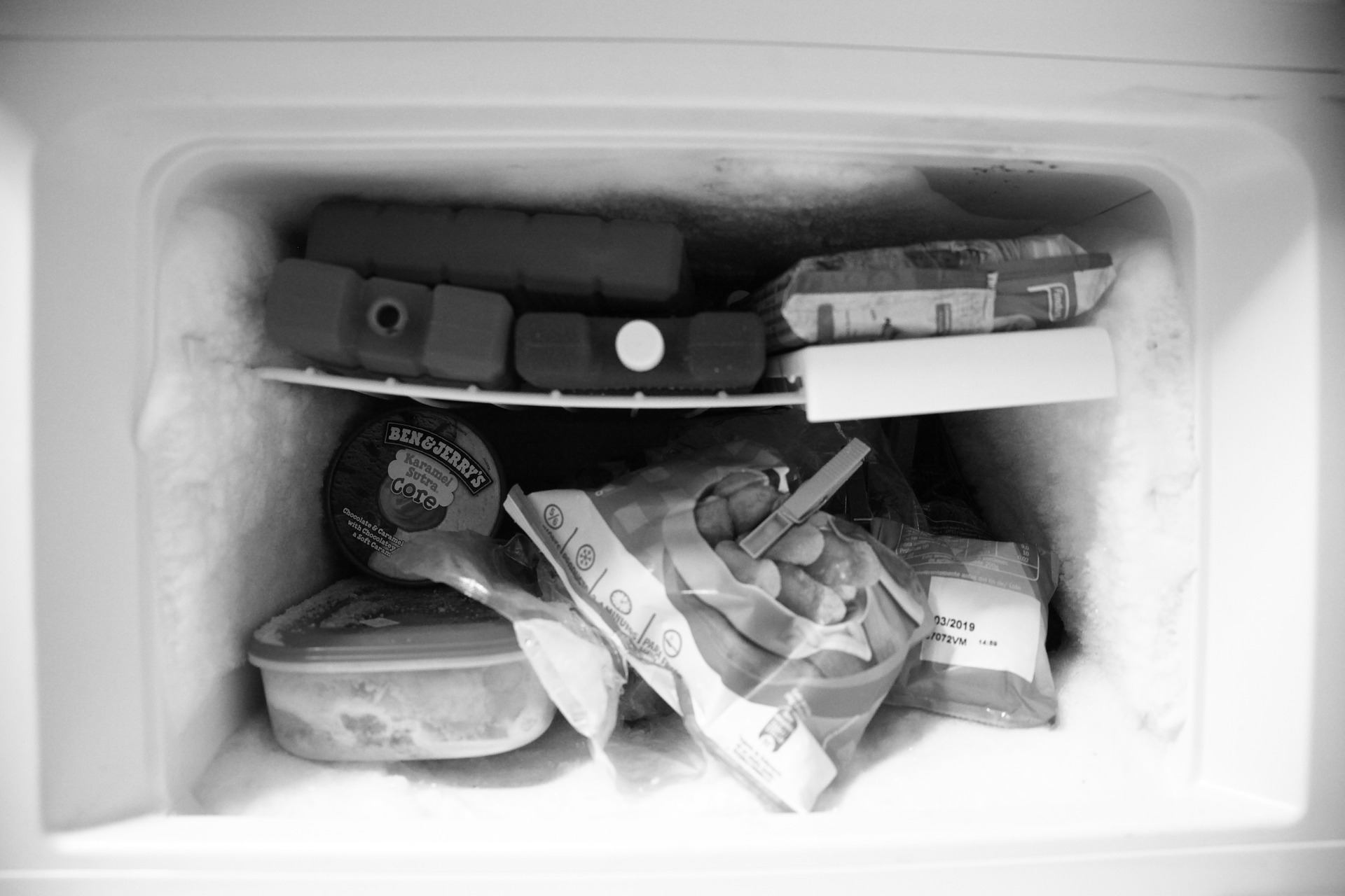 Staples in my freezer